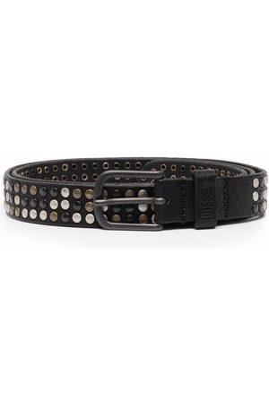 Diesel Studded buckle belt