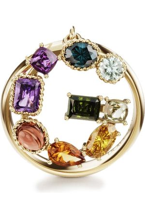Dolce & Gabbana 18kt yellow Rainbow Alphabet G ring