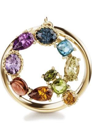 Dolce & Gabbana Women Rings - 18kt yellow Rainbow Alphabet Q ring