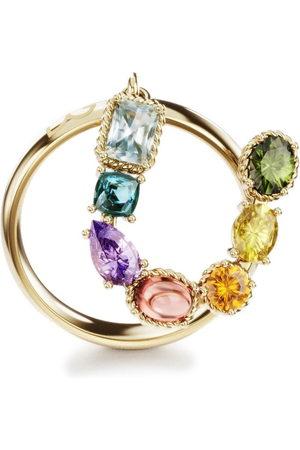 Dolce & Gabbana 18kt yellow Rainbow Alphabet U ring
