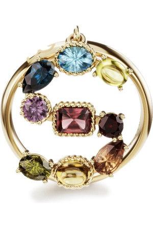 Dolce & Gabbana 18kt yellow Rainbow Alphabet S ring