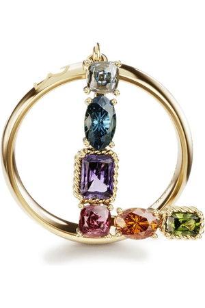 Dolce & Gabbana Women Rings - 18kt yellow Rainbow Alphabet L ring