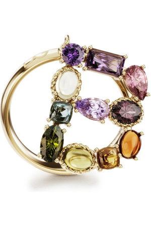 Dolce & Gabbana Women Rings - 18kt yellow Rainbow Alphabet B ring