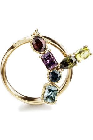 Dolce & Gabbana 18kt yellow Rainbow Alphabet Y ring