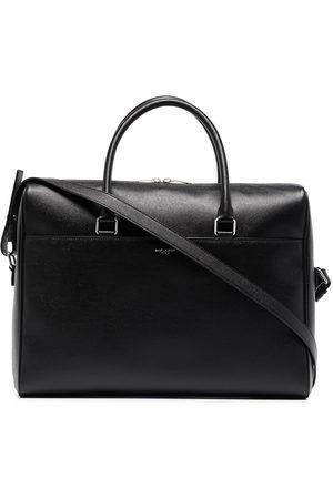 Saint Laurent Men Laptop Bags - Duffle leather briefcase