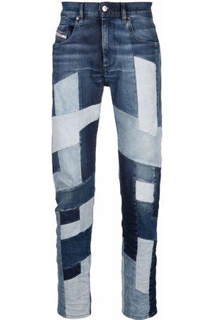 Diesel Men Straight - D-Strukt panelled jeans