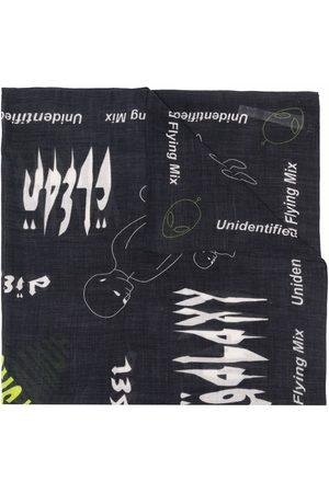 Diesel Men Scarves - Graphic print scarf
