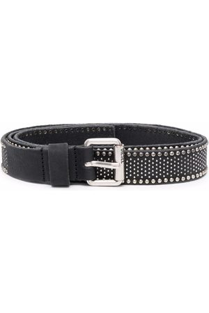 Diesel Studded leather belt