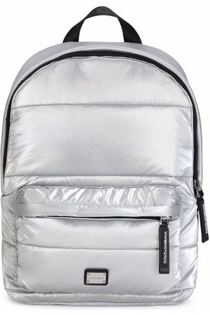 Dolce & Gabbana Girls Rucksacks - Metallic backpack