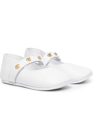 VERSACE Girls Ballerinas - Medusa stud ballerina shoes