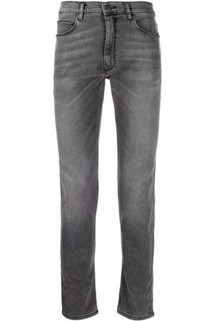 HUGO Men Slim - Mid-rise slim fit jeans - Grey