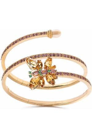Dolce & Gabbana Women Bracelets - Spring 18kt yellow multi-stone cuff