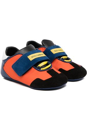 Dolce & Gabbana Sneakers - Colour-block touch-strap sneakers