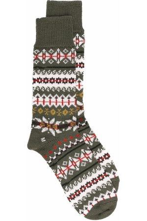MACKINTOSH Men Socks - FAIR ISLE