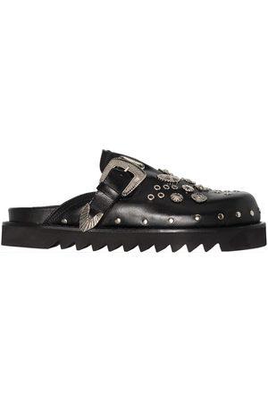 TOGA PULLA Men Loafers - Stud-detailing slip-on mules