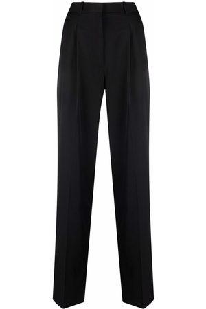 Stella McCartney Women Straight Leg Pants - High-waisted straight-leg trousers