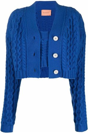 The Andamane Women Cardigans - Forget Me Not top-cardigan twinset