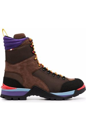 Bally Colour-block hiking boots