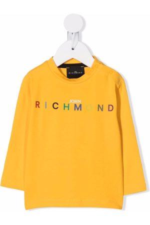 John Richmond Junior T-shirts - Logo-print cotton T-shirt