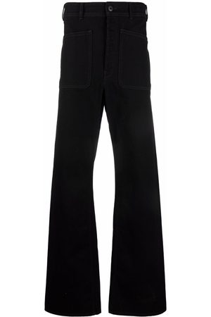 LEMAIRE High-waisted flared jeans