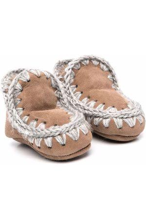 Mou Eskimo suede ankle boots - Neutrals
