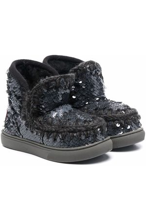 Mou Ankle Boots - Eskimo sequin-embellished ankle boots