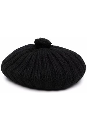 Maison Margiela Men Hats - Knitted beret hat