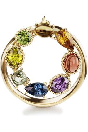 Dolce & Gabbana Women Rings - 18kt yellow Rainbow Alphabet O ring