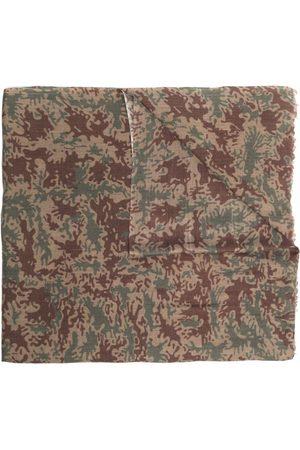Maharishi Camouflage-pattern pashmina scarf