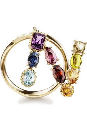 Dolce & Gabbana 18kt yellow Rainbow Alphabet N ring