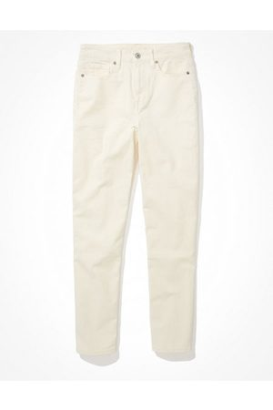 American Eagle Outfitters Stretch Corduroy Mom Straight Pant Women's 2 Regular