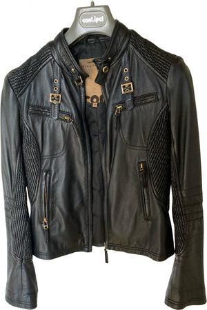 CONBIPEL Leather biker jacket