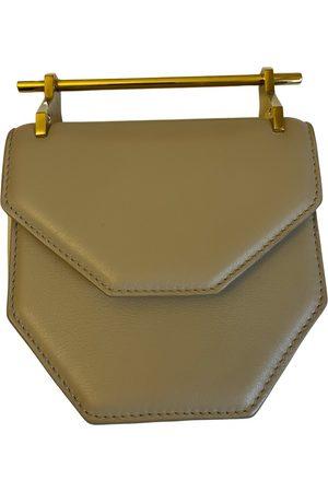 M2MALLETIER Leather clutch bag
