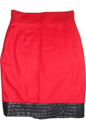 JC DE CASTELBAJAC Wool mid-length skirt