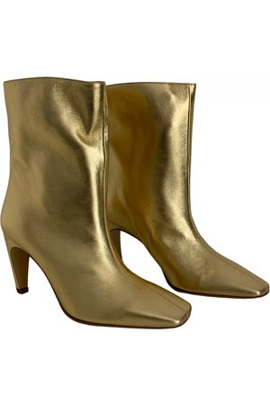 GIA Leather ankle boots