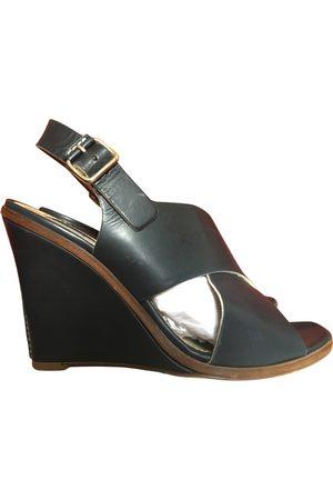 LIVIANA CONTI Leather sandals