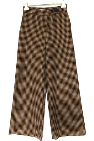 UTERQUE Wool trousers