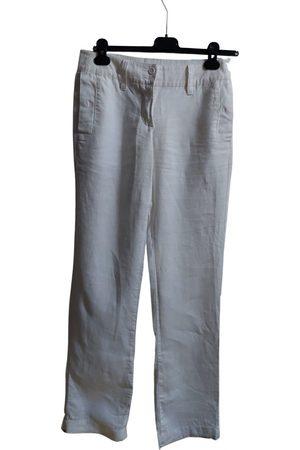 Benetton Linen large pants