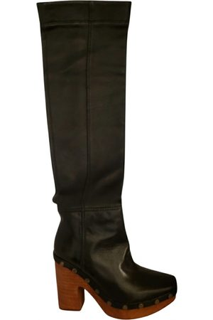 Jacquemus Leather western boots