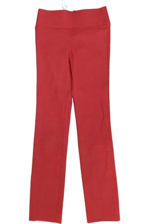 SPRWMN Leather straight pants