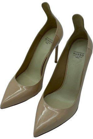 Francesco Russo Patent leather heels