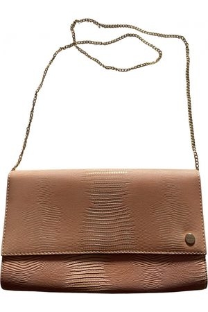 Olga Berg Leather clutch bag