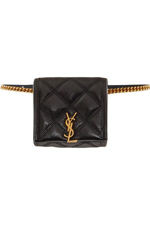 Saint Laurent Baby Becky quilted leather belt bag