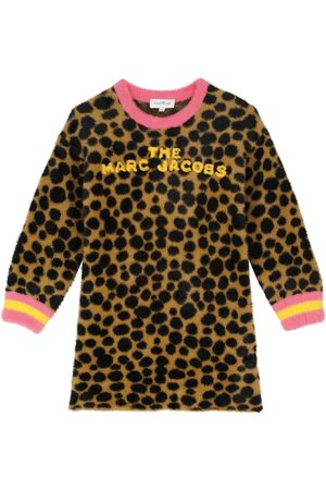 The Marc Jacobs Long-sleeved leopard printed dress