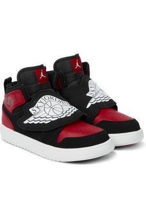 Nike Sky Jordan leather sneakers