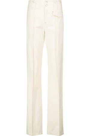 Isabel Marant Dilirok straight-leg cotton pants