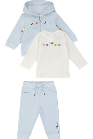 The Marc Jacobs Baby cotton-blend tracksuit and top set