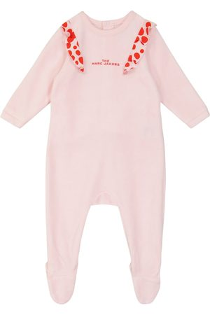 The Marc Jacobs Baby cotton-blend pajama onesie