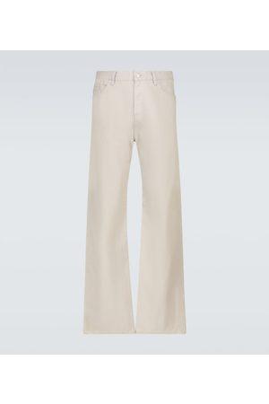 UNDERCOVER Men Wide Leg Pants - Wide-leg cotton pants