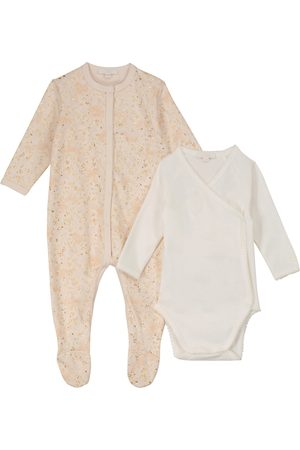 Chloé Baby cotton printed onesie set